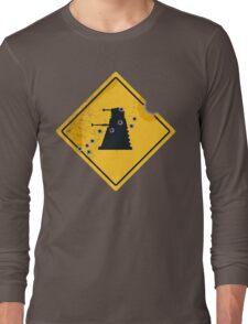 Dalek Crossing Long Sleeve T-Shirt