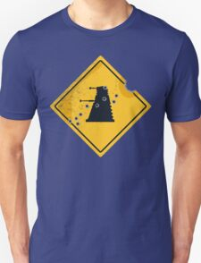 Dalek Crossing Unisex T-Shirt