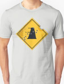 Dalek Crossing Unisex T-Shirt