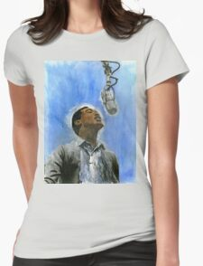 Sam Cooke Womens Fitted T-Shirt