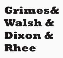 Grimes & Walsh & Dixon & Rhee by wereallinfected
