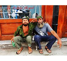 Che and Fidel  Photographic Print