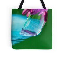 Shimmering Blue Tote Bag