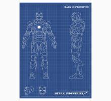Iron man mark 42 blueprints by nick94