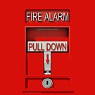 Pull Down Emergency Red Fire Alarm - iphone 5, iphone 4 4s, iPhone 3Gs, iPod Touch 4g case by www. pointsalestore.com