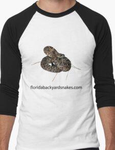 Florida Backyard Snakes T-Shirt Men's Baseball ¾ T-Shirt