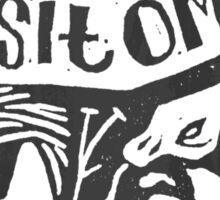 Absit Omen Sticker