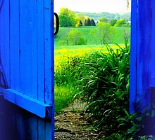 The Blue Gate is Open to the Golden Field by TrendleEllwood