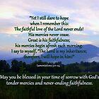 Lamentations 3:21-24 by Paula Tohline  Calhoun