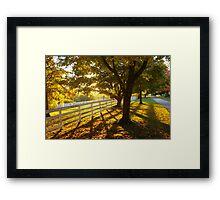 Shaker Village of Pleasant Hill 2012 - Sunset Framed Print