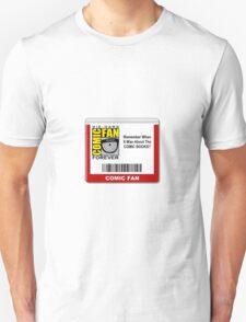 Comic-Fan Badge T-Shirt