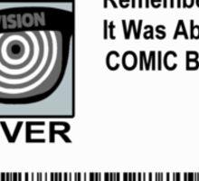 Comic-Fan Badge Sticker