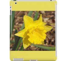 The Yellow Daffodil iPad Case/Skin
