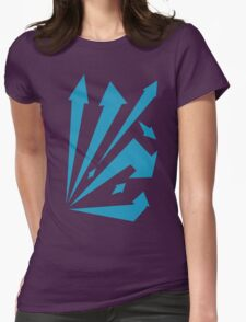 Striking arrows  Womens Fitted T-Shirt