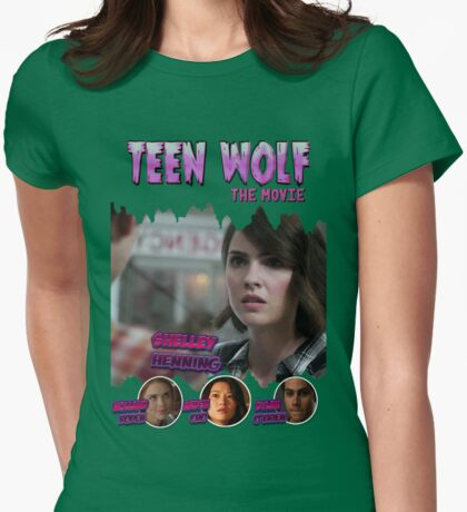 Teen Wolf Old Comic [Malia] Womens Fitted T-Shirt