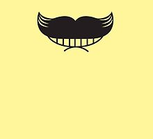 Mustache! Moustache smiley man face by jazzydevil