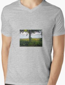Over Yonder Mens V-Neck T-Shirt