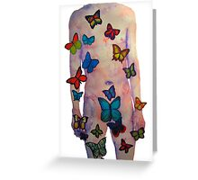 Butterflyman1 Greeting Card