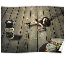 Suicidal SnailMan Poster