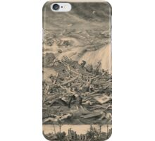 Galveston's Awful Calamity Gulf Tidal Wave September 8th 1900 iPhone Case/Skin