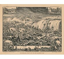 Galveston's Awful Calamity Gulf Tidal Wave September 8th 1900 Photographic Print