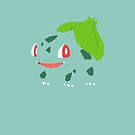 Bulbasaur iPhone Cover/Case by Harry Martin