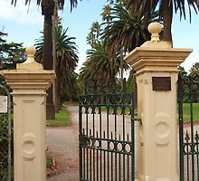 St Kilda City Gardens Entrance by kalaryder