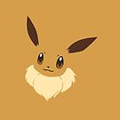 Eevee iPhone Cover/Case by Harry Martin