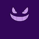 Evil Gengar iPhone Cover/Case by Harry Martin