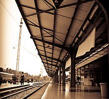Old Railway Of Indonesia by PutroGraph