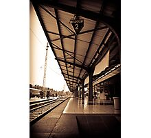 Old Railway Of Indonesia Photographic Print