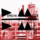 Depeche Mode : Delta Machine Paint cover square by Luc Lambert