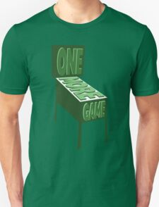 One More Game - Green T-Shirt