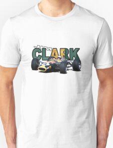 Jim Clark design Unisex T-Shirt