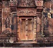 Carvings of Banteay Srei, II by Vladimir Rudyak