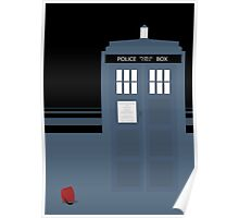 Doctor Who poster and iPhone covers Poster