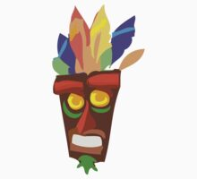 Aku Aku - Crash Bandicoot. by Eugenenoguera
