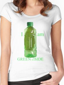 I am Green Inside Outside Women's Fitted Scoop T-Shirt