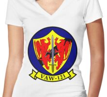 VAW-121 Bluetails Women's Fitted V-Neck T-Shirt