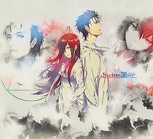 Stein's Gate: Okabe x Kurisu Poster 1 by Ayesher
