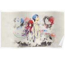 Stein's Gate: Okabe x Kurisu Poster 1 Poster