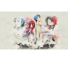 Stein's Gate: Okabe x Kurisu Poster 1 Photographic Print