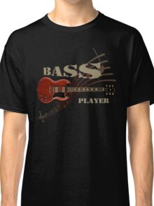 bass player Guitar Classic T-Shirt
