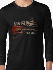 bass player Guitar Long Sleeve T-Shirt