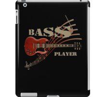 bass player Guitar iPad Case/Skin