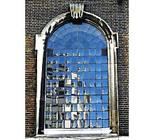 St James' Church Window, London Photographic Print