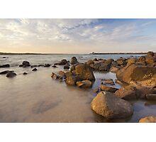 Dampier beach Photographic Print