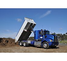 BIG BOYS TOYS - TIPPER Photographic Print