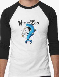 dah dum solo with logo black Men's Baseball ¾ T-Shirt