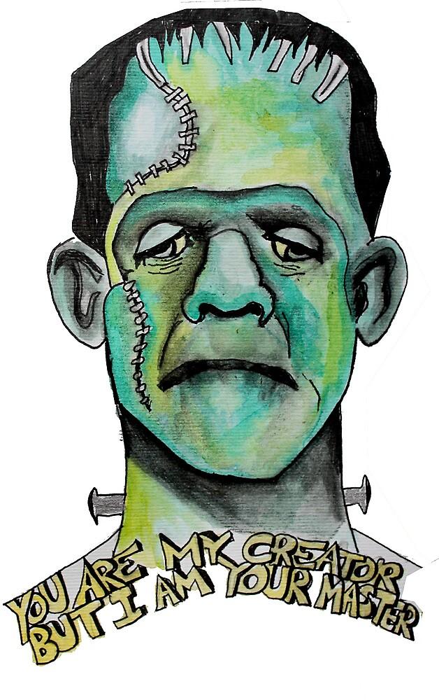 Frankenstein by SerendipityArt